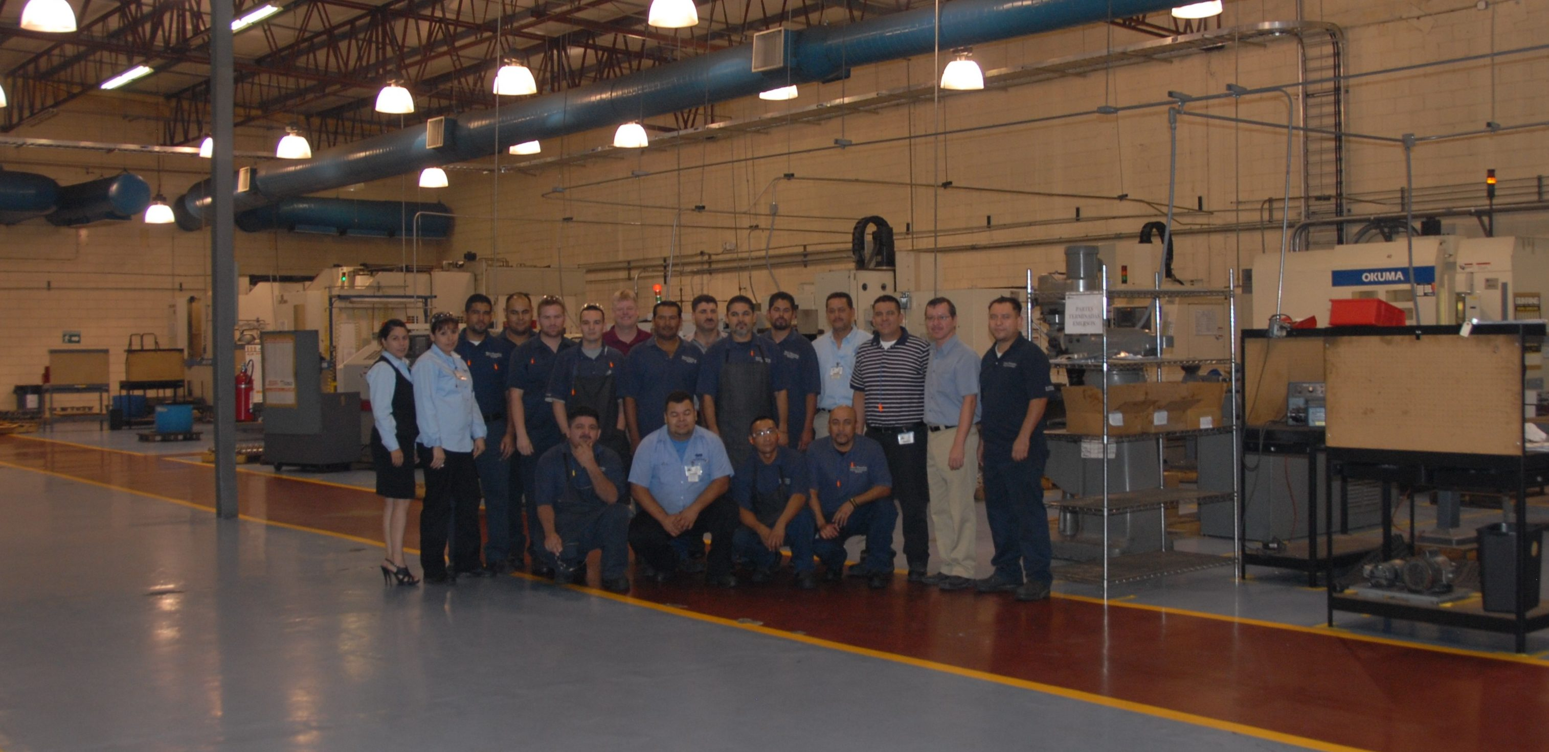 Our Mexicali team and facility